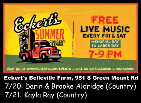 Eckert's Summer Concerts 7-20-18