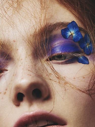 Conseils de maquillage: Young Blood: Scarlett Burton