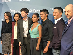 Cast of The Good Doctor at The Good Doctor Season One For Your Consideration Screening Red Carpet Arrivals - IMG_6875