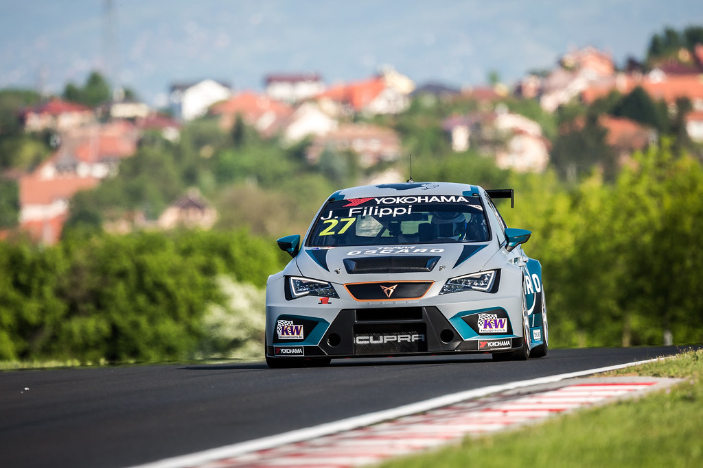 27 FILIPPI John (FRA), Team Oscaro by Campos Racing, Cupra TCR, action during the 2018 FIA WTCR World Touring Car cup, Race of Hungary at hungaroring, Budapest from april 27 to 29 - Photo Thomas Fenetre / DPPI
