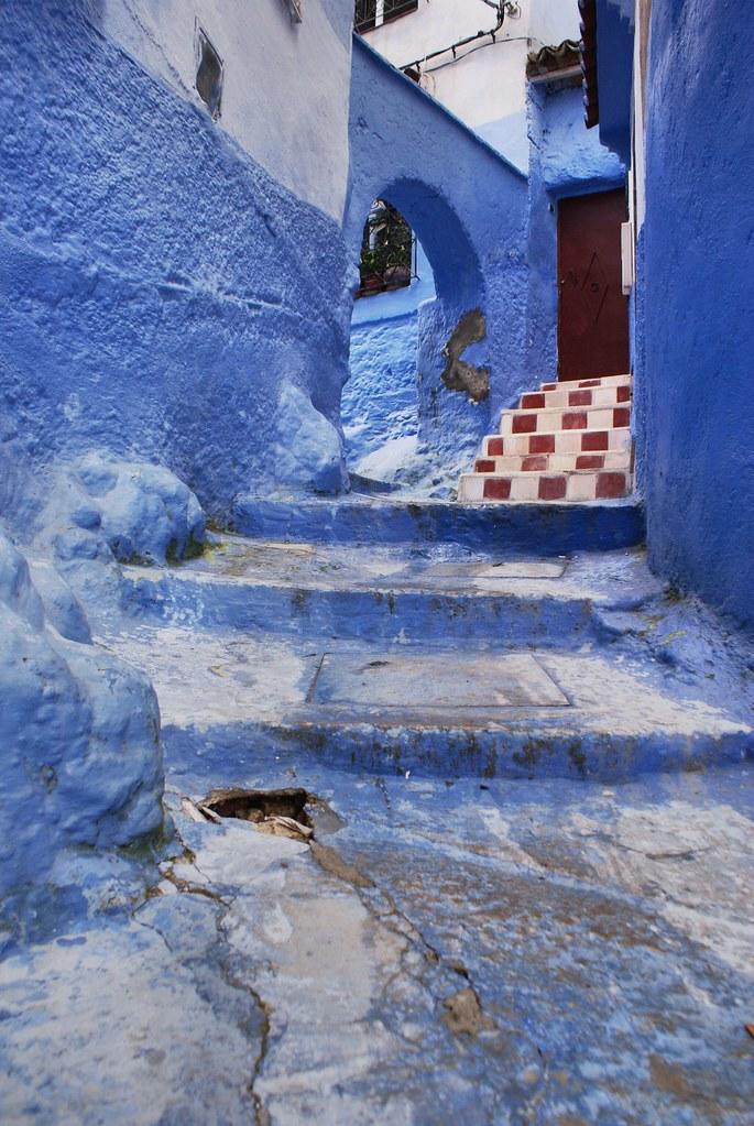 Chaque ruelle de la médina de Chefchaouen est une petite merveille.