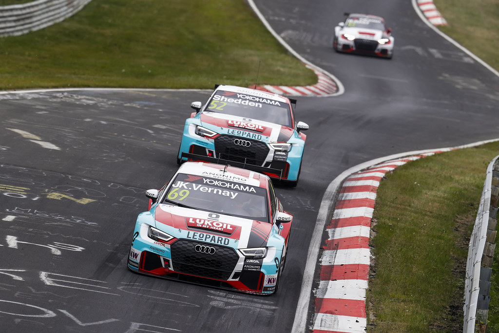 69 VERNAY Jean-Karl (FRA), Audi Sport Leopard Lukoil Team, Audi RS3 LMS, action during the 2018 FIA WTCR World Touring Car cup of Nurburgring, Germany from May 10 to 12 - Photo Clement Marin / DPPI