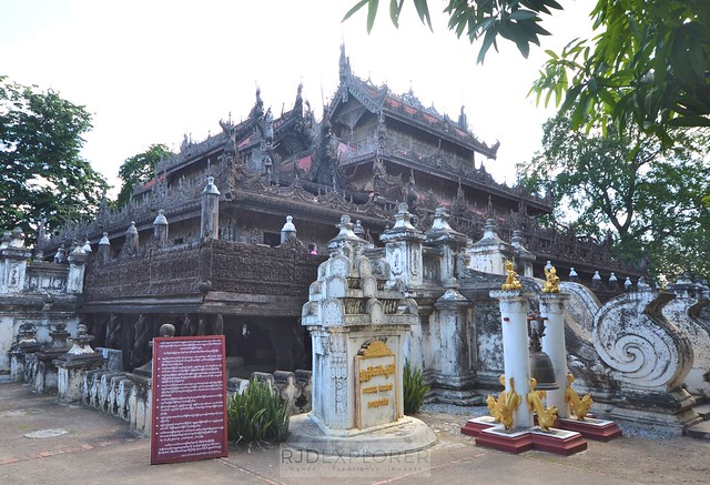 myanmar itinerary Shwenandaw Monastery
