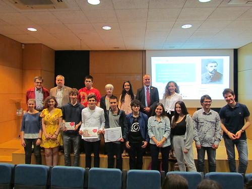 Lliurament Premi Poincaré 2018 11/05/2018