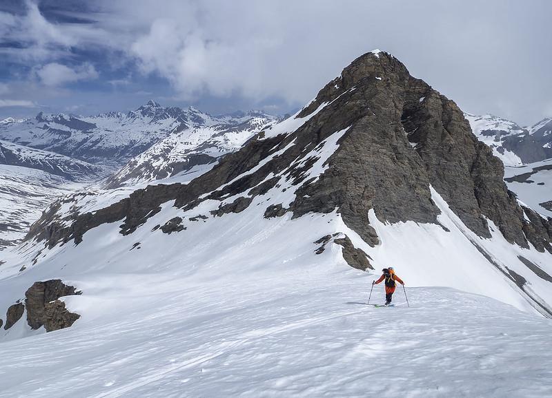 La pala finale del Gletscherhorn