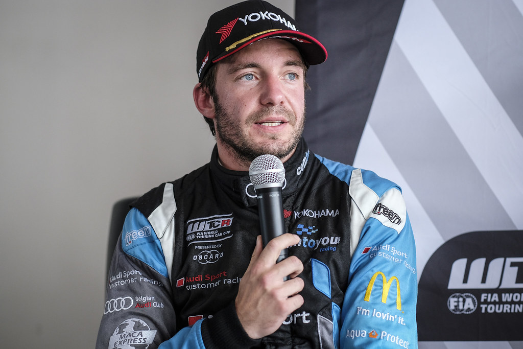 VERVISCH Frederic, (bel), Audi RS3 LMS TCR team Comtoyou Racing, portrait during the 2018 FIA WTCR World Touring Car cup of Zandvoort, Netherlands from May 19 to 21 - Photo Francois Flamand / DPPI