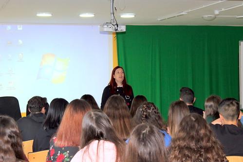 Visita de Ledicia Costas 2018