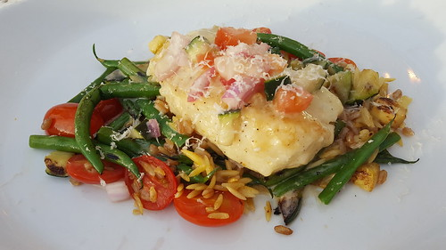 cod fresca, al fresco. From Why You Need to Try Bravo Cucina Italiana's Spring Promotion