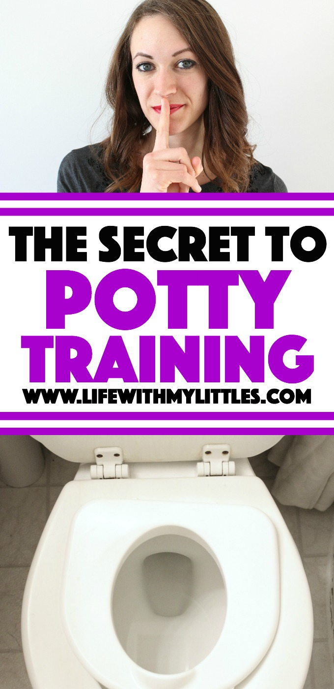 Want to know the real secret to potty training your toddler? It's a lot easier than you might think! Read all about it here.