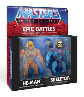 Super7《太空超人》經典復古系列:史詩戰鬥雙人包 Masters of the Universe Vintage EPIC BATTLE 2 PACK