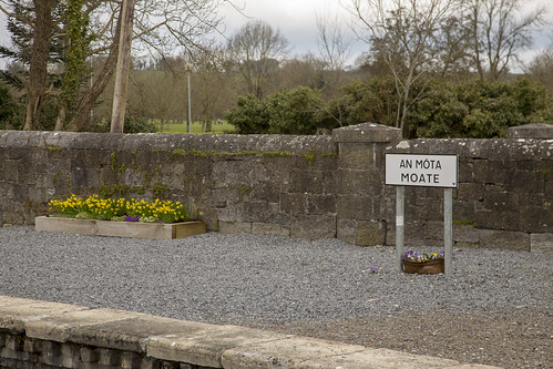 Moate station, County Westmeath, Ireland, March 2018