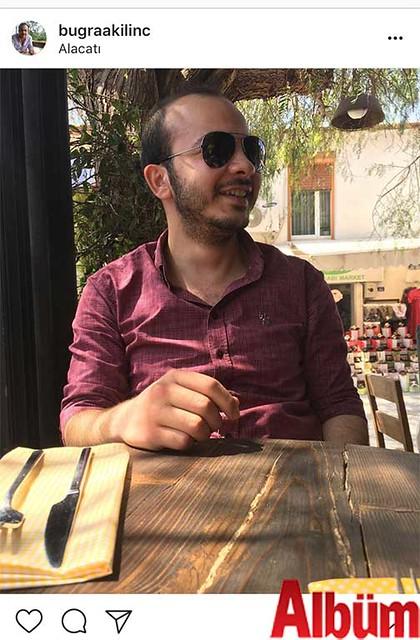 Buğra Kılınç, Alaçatı'da yaptığı kısa ve keyifli bir tatille iş hayatının stresinden uzaklaştı.