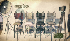 crate Studio Stool Mainstore & Marketplace