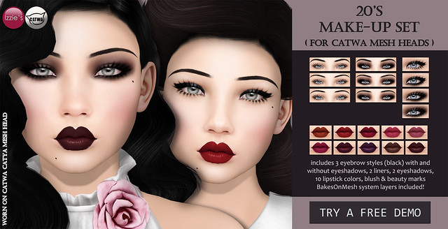 20's Make-Up Set (Catwa) TLC