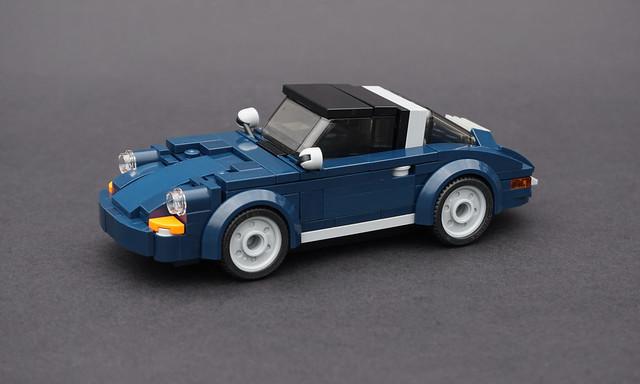 Lego 1970 Porsche 911 Targa - 01