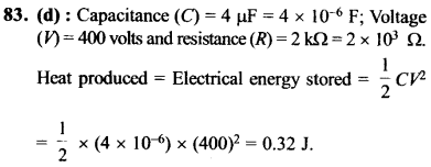 NEET AIPMT Physics Chapter Wise Solutions - Current Electricity explanation 83