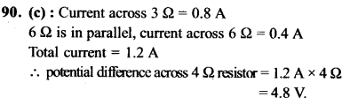 NEET AIPMT Physics Chapter Wise Solutions - Current Electricity explanation 90