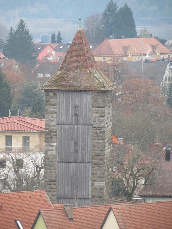 Aussicht von Rathausturm auf Hohennersturm<br /> IMG_8044