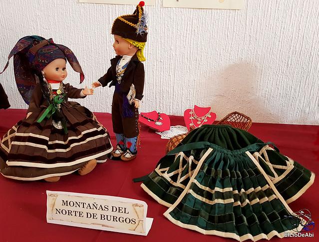 Colección en miniatura de los trajes tradicionales en la provincia de Burgos  (9)