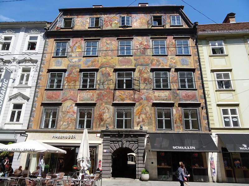Casa pintada de Graz