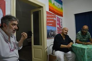 Da destra, Vito Carrieri, Antonio Pacelli e Modesto De Girardis