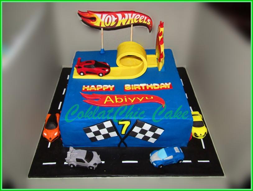 Cake Hotwheels ABIYYU 30 cm