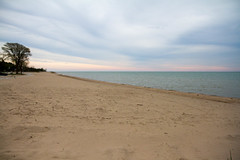 Neshotah Beach Monday Morning