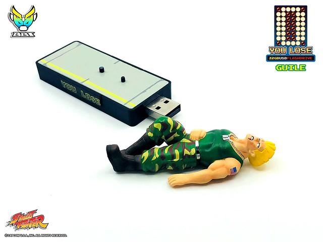 「新增官圖&販售資訊」史上最悲情的隨身碟?! BigBoyToys《快打旋風》你輸了角色造型隨身碟 You lose.....You all lose.......