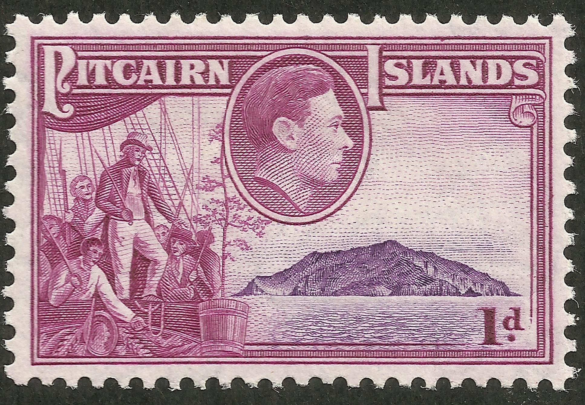 Pitcairn Islands - Scott #2 (1940)