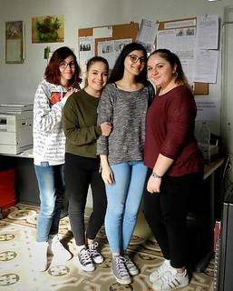Alessia, Stella, Federica e Pamela