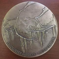 2018 Brookgreen Medal reverse