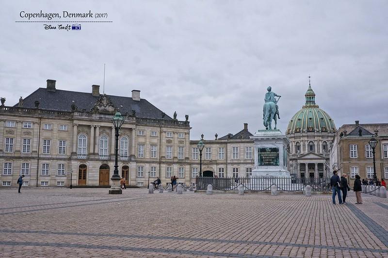 2017 Europe Copenhagen Amalienborg Palace