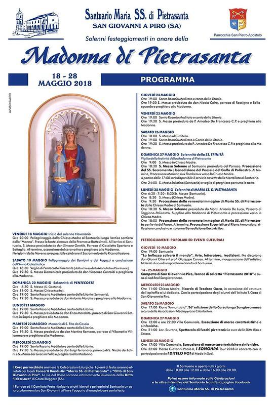 programma festa di pietrasanta 2018