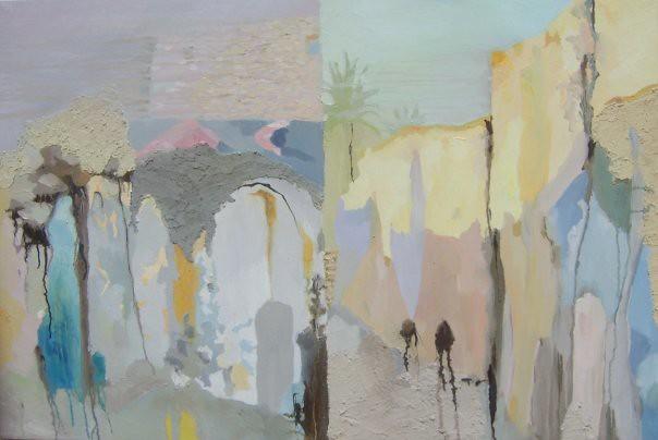 Chemin - 73x103 cm. Oil on canvas 2008