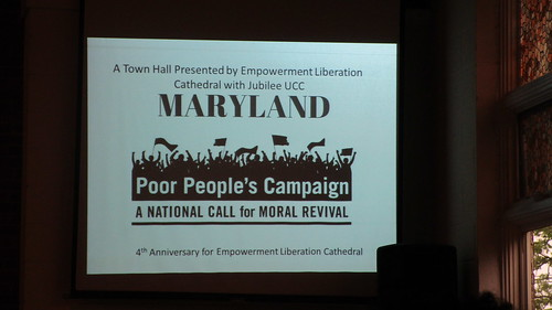 Poor People's Campaign Training, Lanham, Maryland May 5, 2018