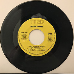 JESSE JAMES:I CAN DO BAD BY MYSELF(RECORD SIDE-B)