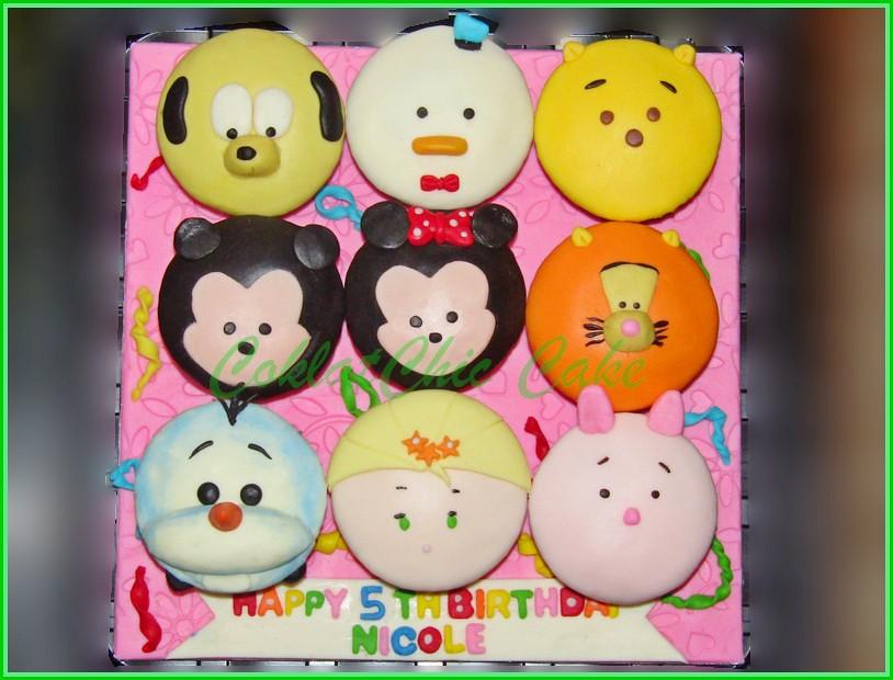 Cupcake set Tsum Tsum NICOLE