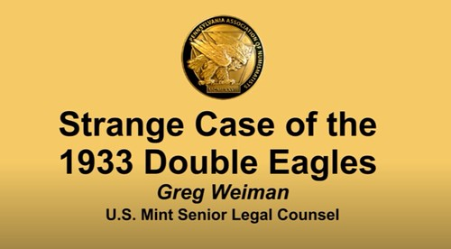 Strange Case o the 1933 Double Eagles video