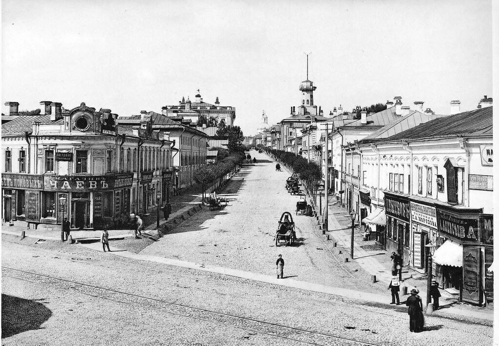 Площадь Разгуляй и Новая Басманная улица