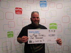 Mark Futrell- $1,000 Lucky No. 7