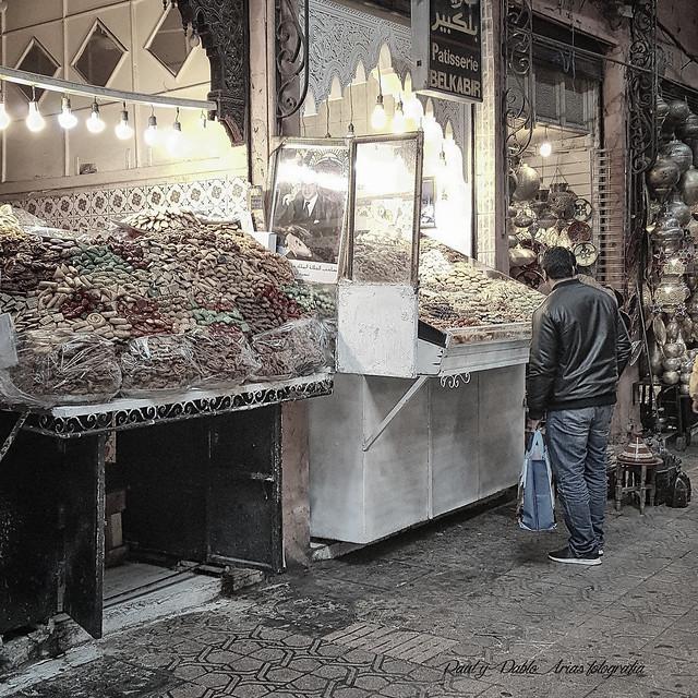 (267/18) Mercado de Marrakech