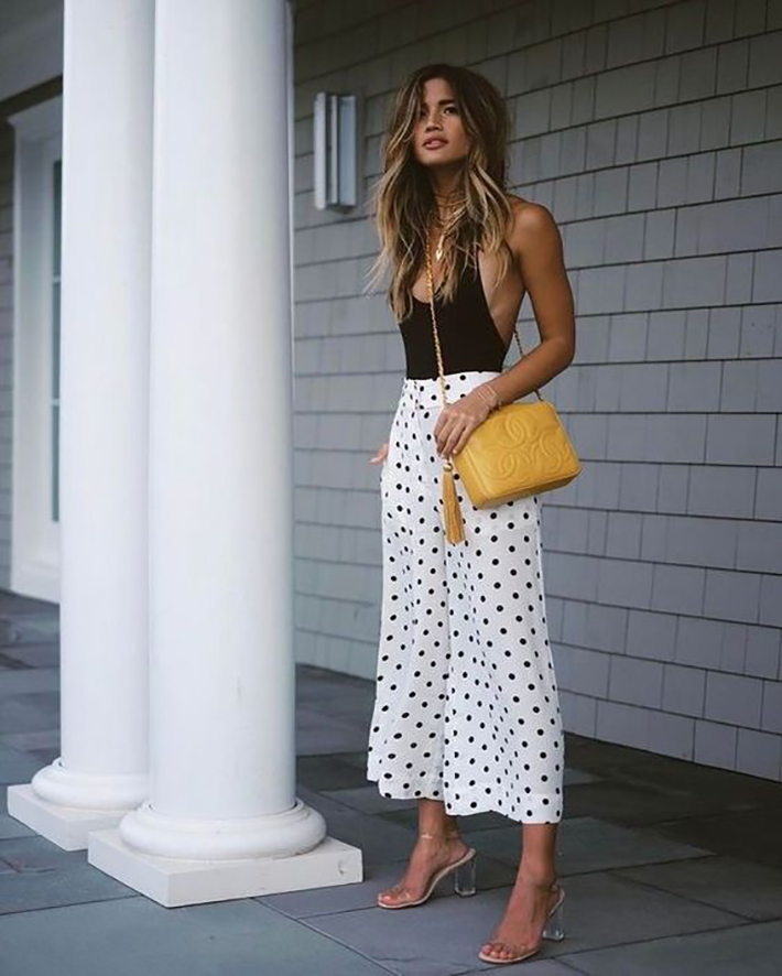 Polka dots trend Outfit Ideas for Spring 2018 style fashion tendencias primavera2