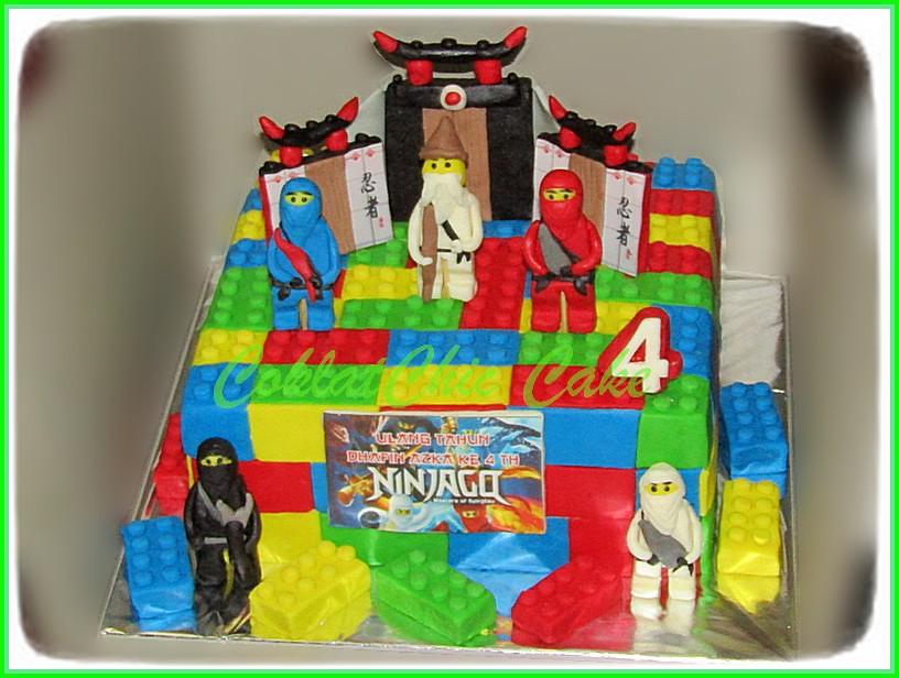 Cake Ninjago Dhafin Azka 22 cm