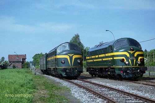 2008 | TSP 202.020 en NMBS 5404 te Moerbeke