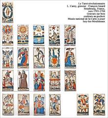 Le Tarot révolutionnaire (Musée français de la Carte à Jouer, Issy-les-Moulineaux)