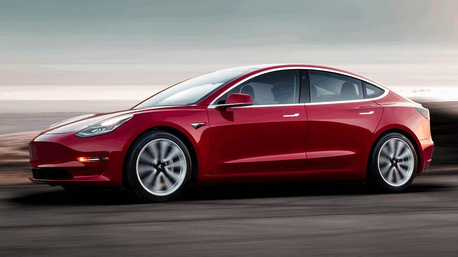 Tesla Model 3 fabricki fotografii 3
