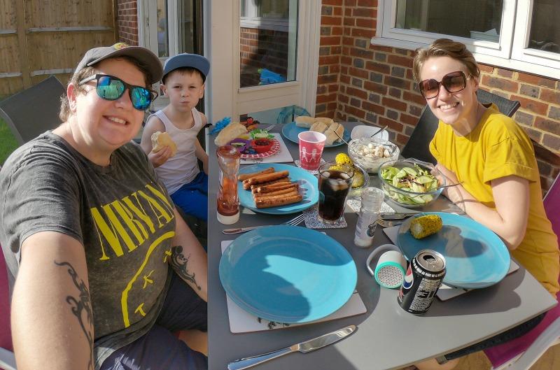 Family BBQ Summer