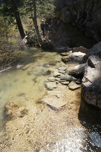 Creek flooded trail, Sony SLT-A33, Sony DT 18-55mm F3.5-5.6 SAM (SAL1855)