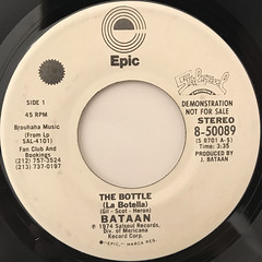 JOE BATAAN:THE BOTTLE(LA BOTELLA)(LABEL SIDE-A)