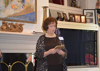 ScholarshipTea2017-2018_0024: Club President Florence Begun